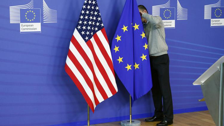 البرلمان الأوروبي يعتبر سفير واشنطن لديه