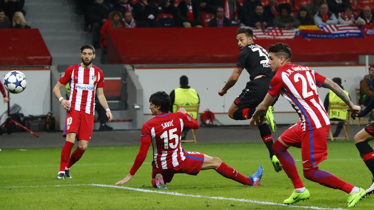 أتلتيكو مدريد يسحق باير ليفركوزن في عقر داره