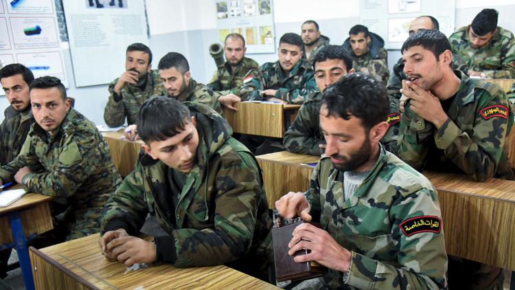أول مجموعة سورية لإزالة الألغام تبدأ عملها في حلب