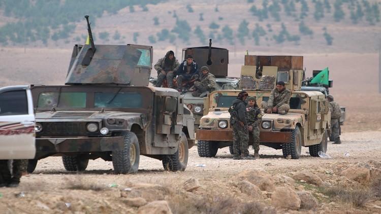 قوات سوريا الديمقراطية تدخل ريف ديرالزور