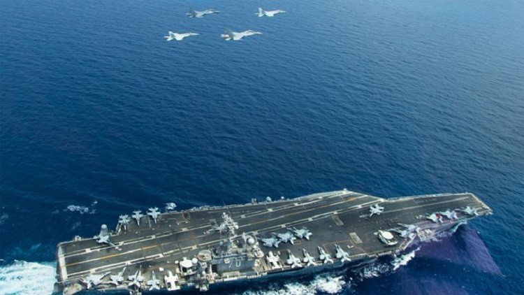 واشنطن تتحدى الصين في البحر
