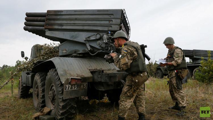 الجيش الأوكراني يقصف دونيتسك 674 مرة خلال يوم