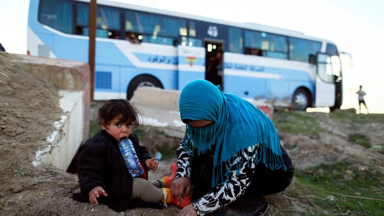 بدء نزوح المدنيين من غرب الموصل