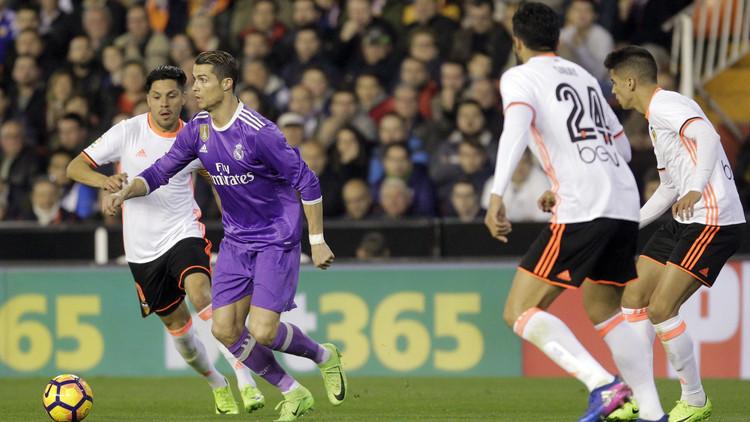 بالفيديو..  ريال مدريد يقع في مصيدة خفافيش فالنسيا