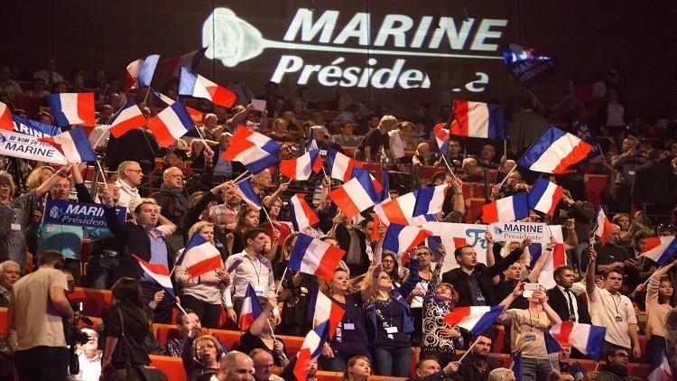 ارتفاع حظوظ لوبان بالفوز في الجولة الأولى للانتخابات الفرنسية