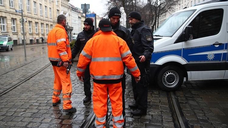 الشرطة الألمانية تعتقل مشتبها به وتضبط مواد كيمياوية بحوزته