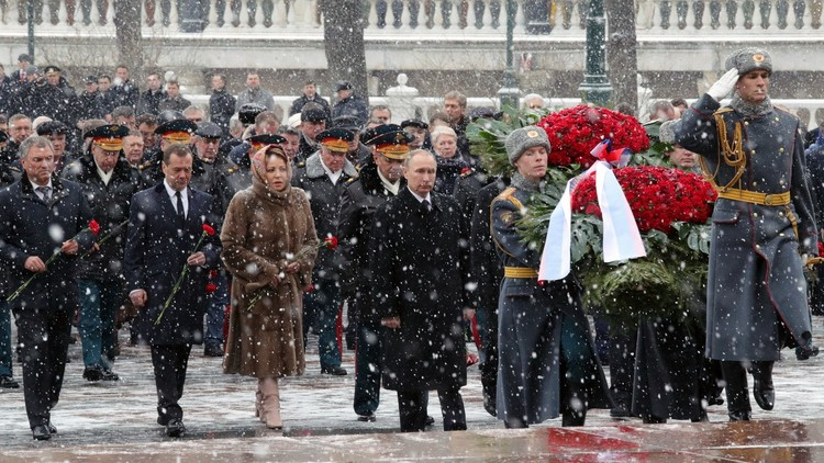 بوتين: المنافسة بين الرياضيين العسكريين تزيد من الثقة بين البلدان