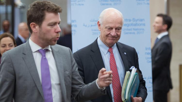 دي ميستورا: الأطراف السورية قبلت بمفاوضات مباشرة