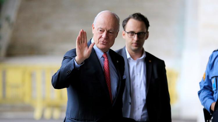 الكشف عن مقترحات دي ميستورا لوفدي الحكومة والمعارضة في جنيف