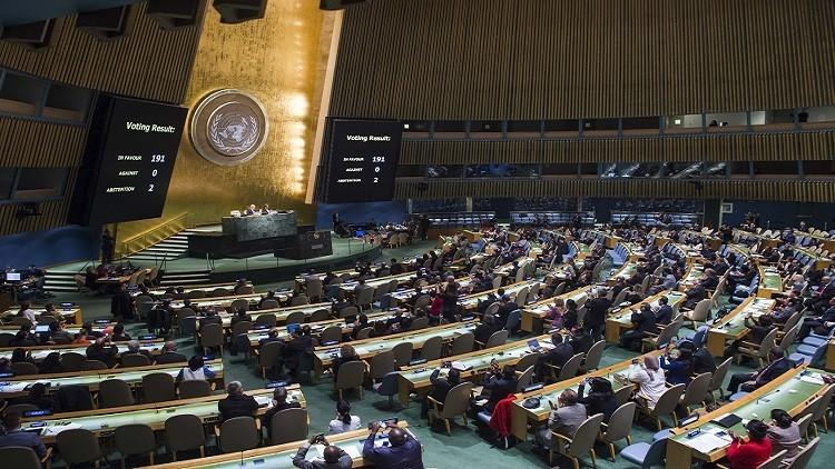 دولة سادسة تفقد حق التصويت في الجمعية العامة للأمم المتحدة 58b1084fc36188c0018b