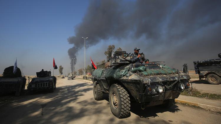 وكالة: هجوم القوات العراقية بغرب الموصل يتباطأ إثر مقاومة