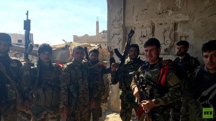 درعا.. الجيش السوري يصد