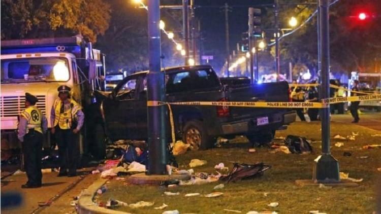 إصابة 28 شخصا بحادث دهس في نيو أورليانز الأمريكية