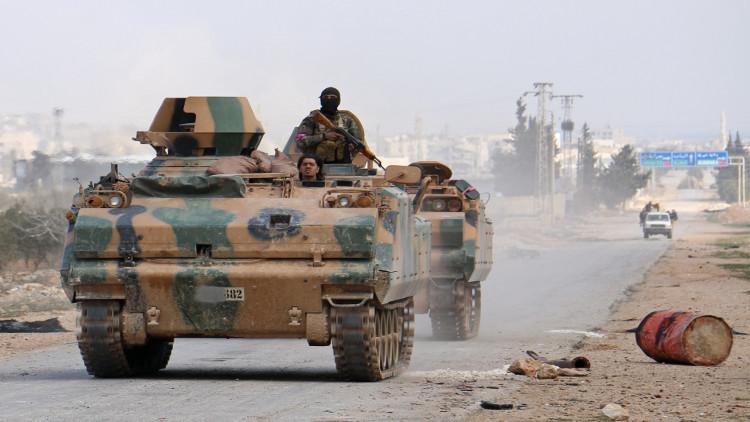 المعارضة المدعومة تركياً تشتبك مع الجيش السوري جنوب الباب