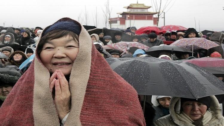 بوتين يهنّيء البوذيين برأس السنة الجديدة حسب التقويم القمري!