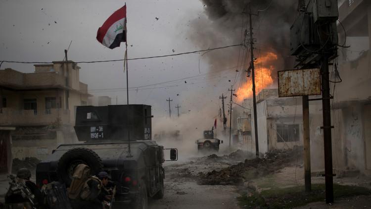 القوات العراقية تتقدم في الساحل الأيمن للموصل وتتجه نحو وسط المدينة