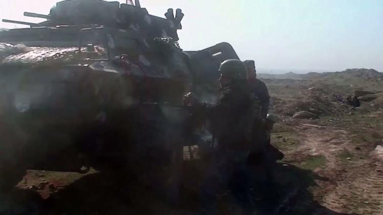 الجيش العراقي يستعيد حي الجوسق