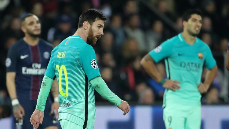 إصابات بالجملة بفريق باريس سان جيرمان قبل مباراة برشلونة