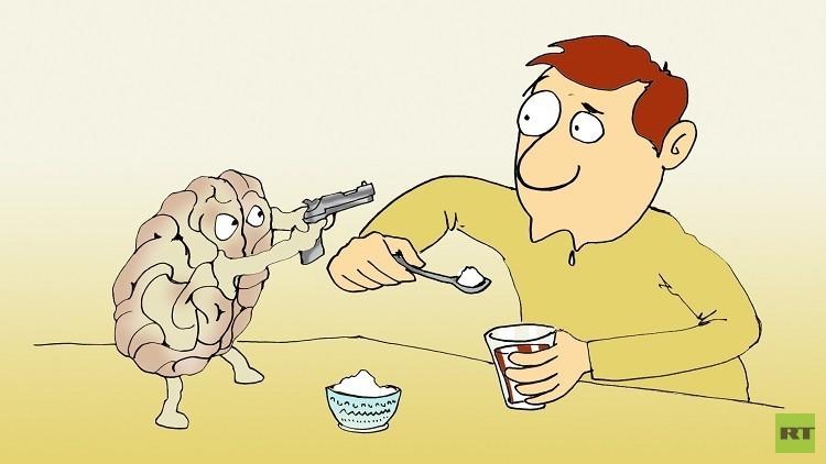 دماغك قد يقتلك بسبب السكر