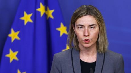 فيديريكا موغيريني، المفوضة العليا للسياسة الخارجية للاتحاد الأوروبي
