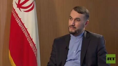المساعد الخاص لرئيس مجلس الشورى الإيراني للعلاقات الدولية حسين أمير عبد اللهيان