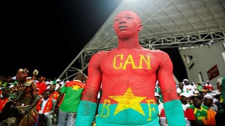 مشجع في بطولة أمم إفريقيا