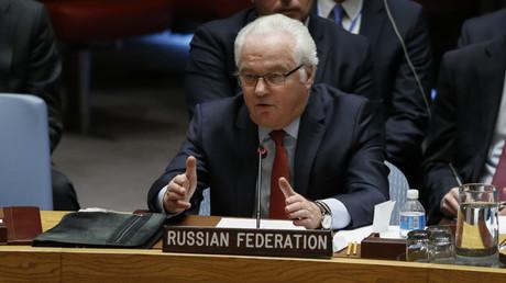 مندوب روسيا الدائم لدى الأمم المتحدة فيتالي تشوركين