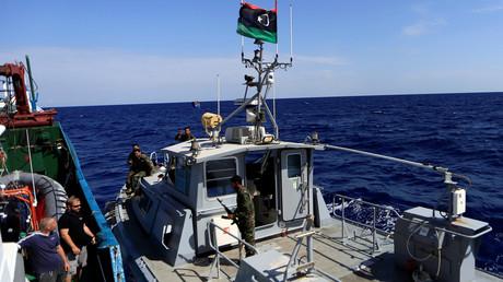 قوات خفر السواحل الليبي