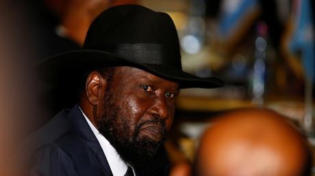 رئيس جمهورية جنوب السودان سلفاكير ميارديت