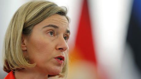 مفوضة الشؤون الخارجية للاتحاد الأوروبي فيديريكا موغيريني