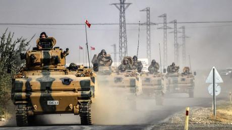 """القوات التركية ضمن """"درع الفرات"""""""