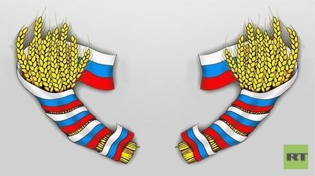روسيا تتسلح بالقمح