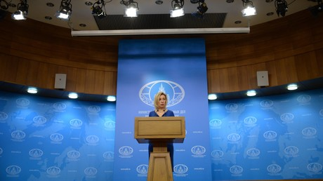 مؤتمر صحفي للناطقة باسم خارجية روسيا