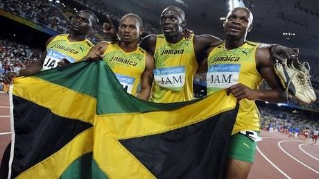 منتخب جامايكا للتتابع 100X4 متر