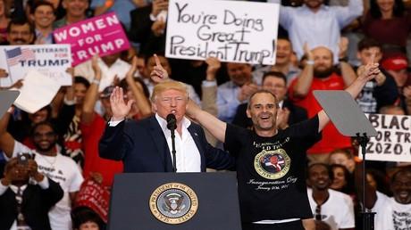 الرئيس الأمريكي دونالد ترامب - فلوريدا 19 /2/2017