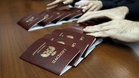 بطاقات الهوية الجديدة في دونيتسك الشعبية