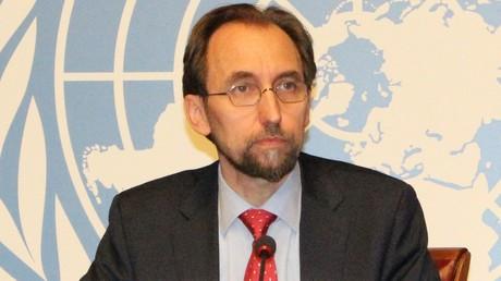 الأمير زيد بن رعد الحسين، مفوض الأمم المتحدة السامي لحقوق الإنسان