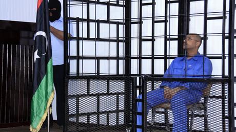 محاكمة سيف الإسلام القذافي في الزنتان - أرشيف