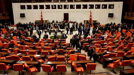 البرلمان التركي (صورة أرشيفية)