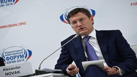 وزير الطاقة الروسي ألكسندر نوفاك