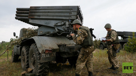 الجيش الأوكراني يستهدف مناطق شرقي أوكرانيا