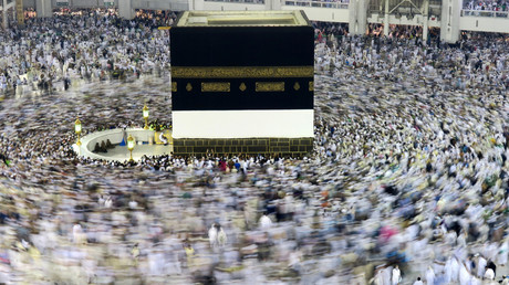 الكعبة الشريفة في مكة المكرمة