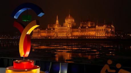 شعار الألعاب الأولمبية في بودابست