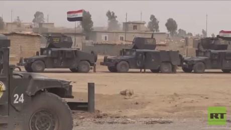 القوات العراقية تعزز تقدمها غرب الموصل