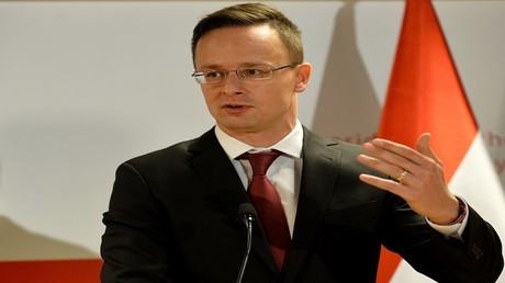 وزير الخارجية الهنغاري، فينغر بيتر زيجارتو