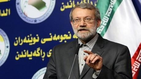 رئيس مجلس الشورى الإيراني، علي لاريجاني