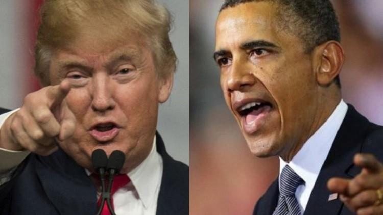 ترامب يتهم أوباما بتسريب معلومات سرية من البيت الأبيض