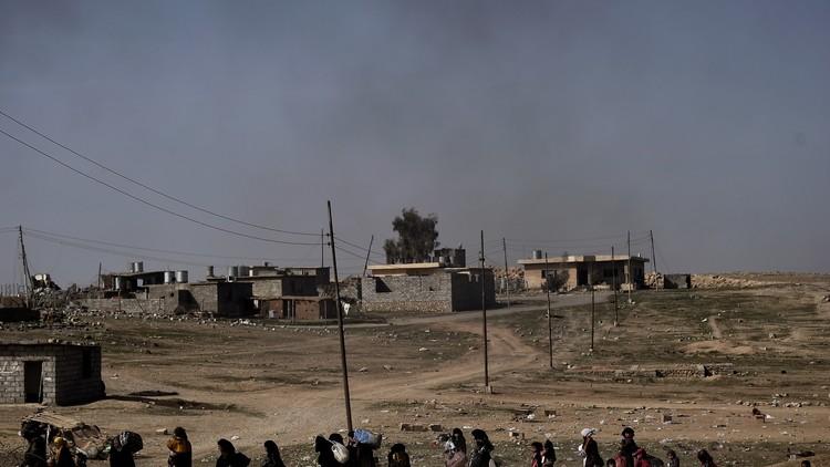 الجيش العراقي يقطع آخر طرق الخروج من الموصل
