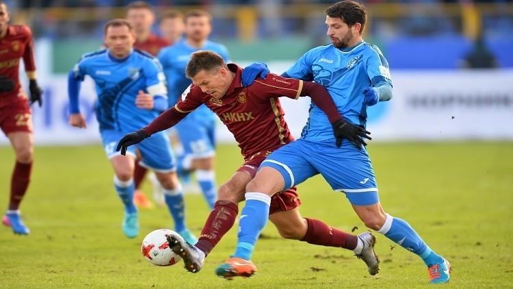 روبين قازان يبلغ نصف نهائي كأس روسيا