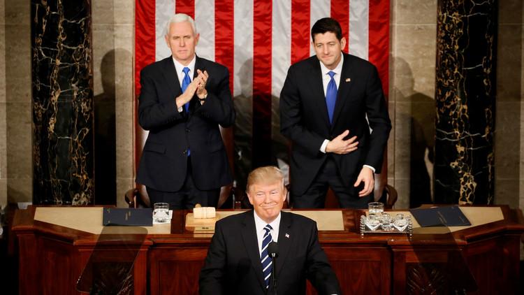 خطاب ترامب أمام الكونغرس. الطروحات الأساسية